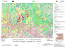 Preliminary Surficial Geologic Map of the Rattlesnake Hills 30' x 60' Quadrangle, Natrona and Fremont Counties, Wyoming (2011)