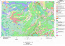 Preliminary Surficial Geologic Map of the Rawlins 30 x 60 Minute Quadrangle, Carbon and Sweetwater Counties, Wyoming (1998)