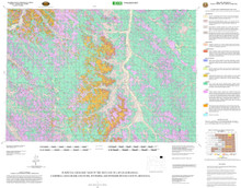 Surficial Geologic Map of the Recluse 30' x 60' Quadrangle, Campbell and Crook Counties, Wyoming and Powder River County, Montana (2007)