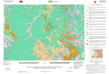 Surficial Geologic Map of the Reno Junction 30' x 60' Quadrangle, Campbell and Weston Counties, Wyoming (wsgs) (2007)