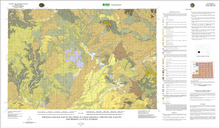 Surficial  Geologic Map of the Farson 30' x 60' Quadrangle, Sweetwater, Sublette and Fremont Counties, Wyoming (2011)