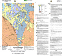 Preliminary Geologic Map of the Best Ranch Quadrangle, Albany County, Wyoming (2011)