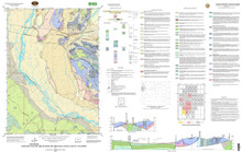 Geologic Map of the Jackson Quadrangle, Teton County, Wyoming (2003)