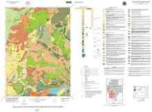 Geologic Map of the Shadow Mountain Quadrangle, Teton County, Wyoming (2001)