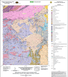 Preliminary Geologic Map of the Keystone Quadrangle, Albany and Carbon Counties, Wyoming (2005)
