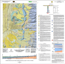Revised Geologic Map of the Laramie Quadrangle, Albany County, Wyoming (2009)