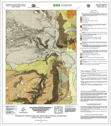 Preliminary Surficial Geologic Map of the Centennial Quadrangle, Albany County, Wyoming (2012)