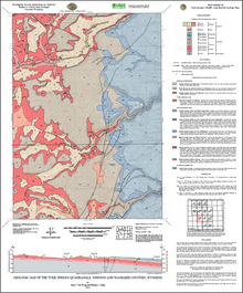 Geologic Map of the Turk Springs Quadrangle, Johnson and Washakie Counties, Wyoming (2011)