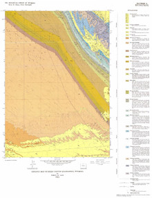 Geologic Map of Sheep Canyon Quadrangle, Wyoming (1986)