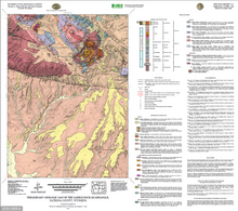 Preliminary Geologic Map of the Saddle Rock Quadrangle, Natrona County, Wyoming (2012)