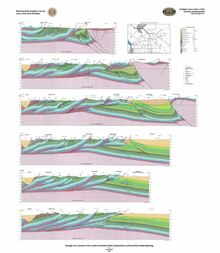 Geologic Cross Sections of the Northern Overthrust Belt and Hoback Basin, Wyoming (2002)