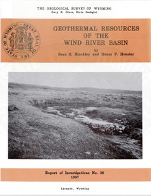 Geothermal Resources of the Wind River Basin (1987)