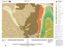 Preliminary Geologic Map of the Rock Springs 30' x 60' Quadrangle, Sweetwater County, Wyoming (2009)
