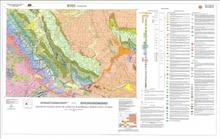 Preliminary Geologic Map of the Lander 30' x 60' Quadrangle, Fremont County, Wyoming (2008)