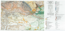 Preliminary Geologic Map of the South Pass 1:100,000 Quadrangle, Fremont and Sweetwater Counties, Wyoming (2005)
