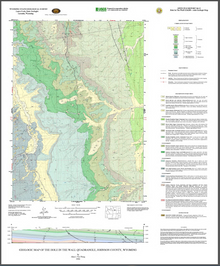 Geologic Map of the Hole in the Wall Quadrangle, Johnson County, Wyoming (2004)