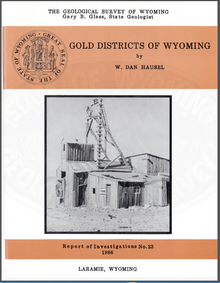 Gold Districts of Wyoming (1986)