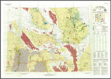 Oil and Gas Map of Wyoming (1996)