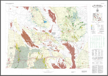 Oil and Gas Map of Wyoming (1991)