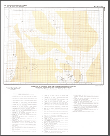 Index Map to Geologic Maps for Wyoming Included in 1970–1979 Graduate Theses from the University of Wyoming (1986)
