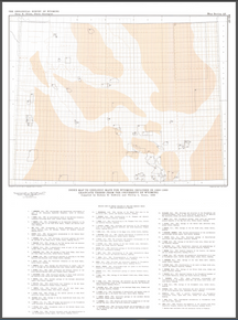Index Map to Geologic Maps for Wyoming Included in 1960–1969 Graduate Theses from the University of Wyoming (1986)