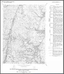 Preliminary Geologic Map of the Beartrap Meadows Quadrangle, Johnson County, Wyoming (1991)