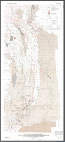 Tectonic Map of the Overthrust Belt, Western Wyoming, Southeastern Idaho and Northeastern Utah, Showing Current Oil and Gas Development (1981)