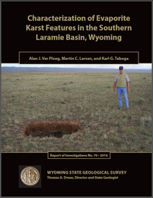 Characterization of Evaporite Karst Features in the Southern Laramie Basin, Wyoming (2016)