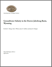 Groundwater Salinity in the Denver-Julesburg Basin, Wyoming (2016)
