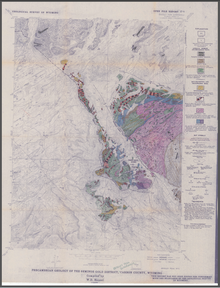 Precambrian Geology of the Seminoe Gold District, Bradley Peak Quadrangle, Carbon County, Wyoming (1989)