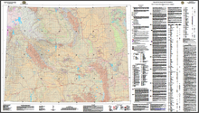 Uranium Map of Wyoming (2009)