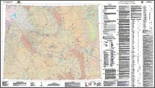 Uranium Map of Wyoming (2009)
