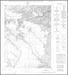 Revised Geologic Map of the South Pass City Quadrangle, Fremont County, Wyoming (1988)