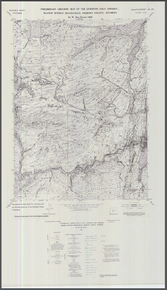 Preliminary Geological Map of the Lewiston Gold District, Radium Springs Quadrangle, Fremont County, Wyoming (1986)
