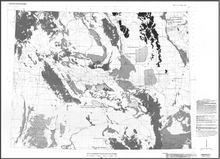 Planning-Guide Map for Radon Studies in Wyoming (1986)