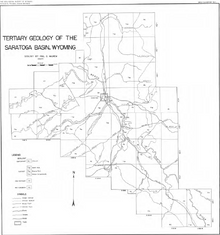 Tertiary Geology of the Saratoga Basin, Wyoming (1950)