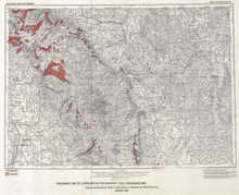Preliminary Map of Landslides on the Sheridan 1° x 2° Topographic Map (1984)