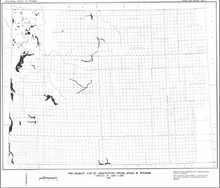 Preliminay Map of Liquefaction Prone Areas in Wyoming (1986)