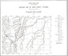 Geologic Map of Uinta County, Wyoming (1937)