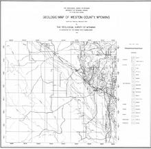 Geologic Map of Weston County, Wyoming (1936)