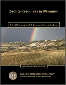 Zeolite Resources in Wyoming (2016)