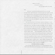 Annual Report of the Territorial Geologist to the Governor of Wyoming (1890)