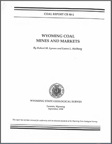 Wyoming Coal Mines and Markets (1998)