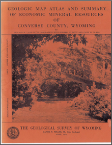 Geologic Map Atlas and Summary of Economic Mineral Resources of Converse County, Wyoming (1972)