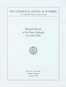 Biennial Report of the State Geologist (1967-1969) (1969)