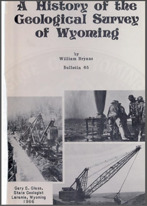 A History of the Geological Survey of Wyoming (1986)
