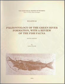 Paleontology of the Green River Formation, with a Review of the Fish Fauna (2d ed.) (1984)
