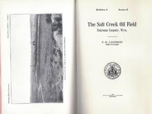 The Salt Creek Oil Field, Natrona County, Wyo. (1912)