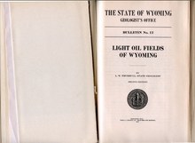 Light Oil Fields of Wyoming (1916)