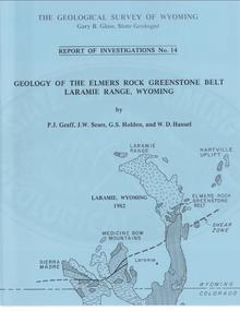 Geology of the Elmers Rock Greenstone Belt, Laramie Range, Wyoming (1982)